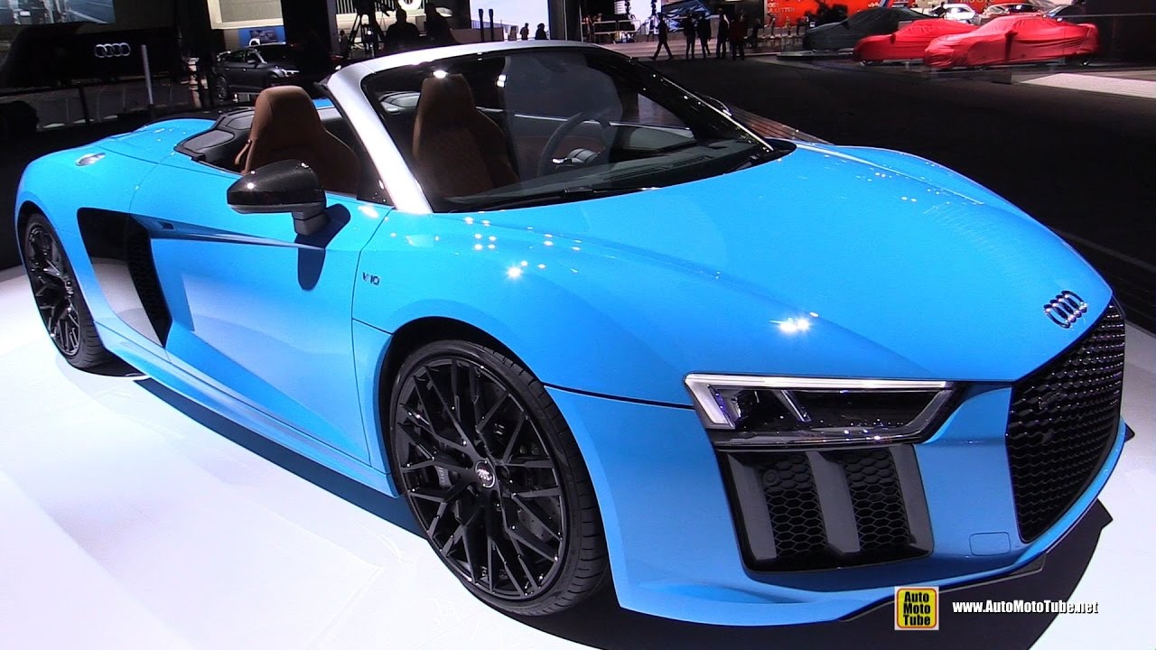 2017 Audi R8 Convertible Exterior And Interior
