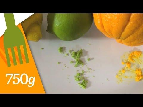 Comment zester des agrumes ? - 750 Grammes