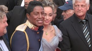 Jermaine Jackson, Maday Velazquez and more on the red carpet in Cannes