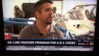 WZZM report on the on line voucher system
