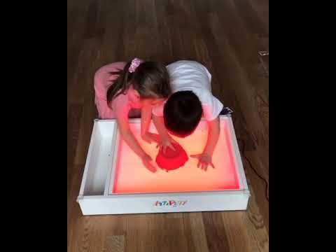 Art Light Activity Box  Art&Play. Learn. Create. Experiment with us!