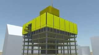 Schutzschild Xclimb 60 - Die variable Einhausung für alle Hochhausprojekte [DE]
