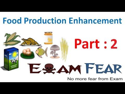 Biology Food Production part 2 (Dairy Farm management) class 12 XII