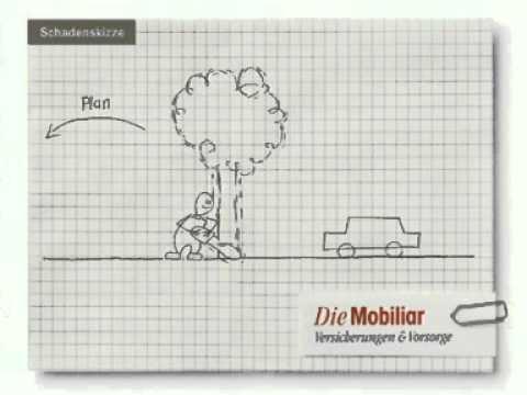 Animierte Schadenskizze Der Mobiliar Baum Youtube