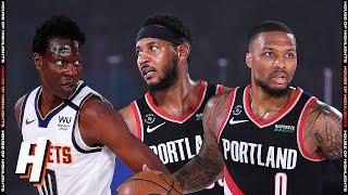 Portland Trail Blazers vs Denver Nuggets - Full Game Highlights   August 6   2019-20 NBA Season