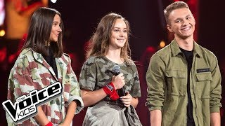 "Fernandes, Grodzka, Kubera - ""Give Me Love"" - Battle - The Voice Kids Poland 2"