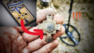 🎖German WW2 Mother´s Cross found!! - metal detecting in Germany - XP Deus