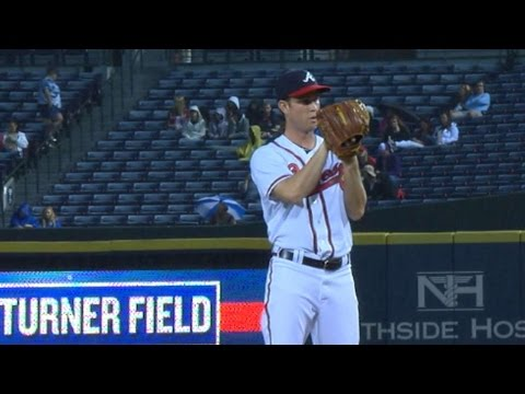 WSH@ATL: Weber fans 10, holds Nats to one run