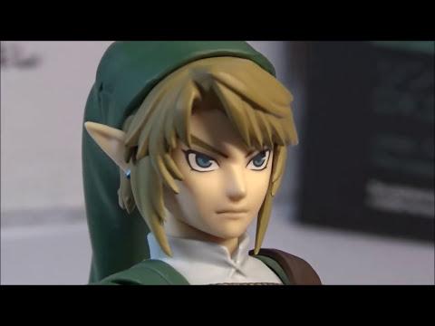 Unboxing & Review Link Legend Of Zelda Twilight Princess DX Edit.  . Revision Link Figma DX