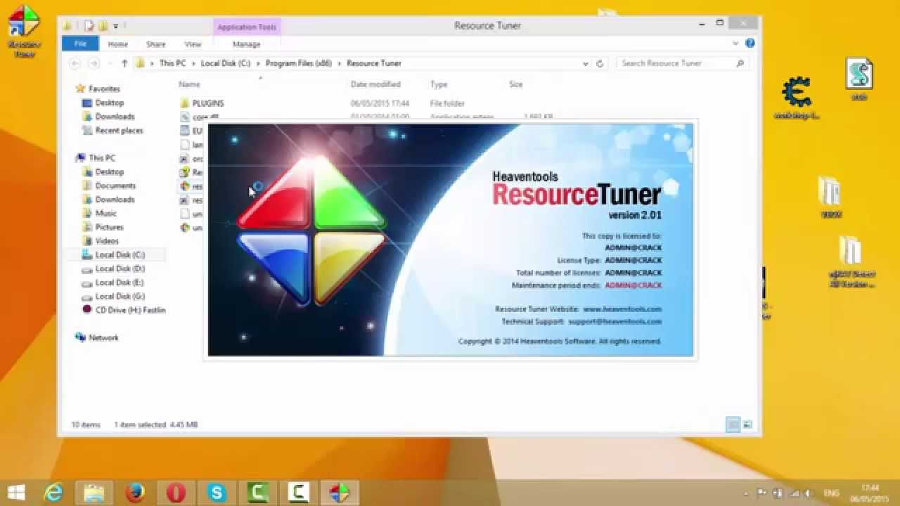 Resource Tuner 2 0 1 + Crack Universal