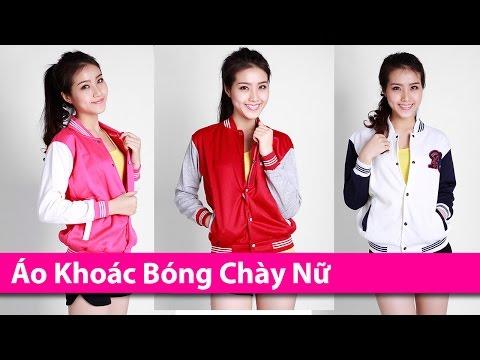 Áo Khoác Bóng Chày Nữ - Áo Khoác HCM Chuyên áo Khoác Thời Trang AoKhoacHCM.com