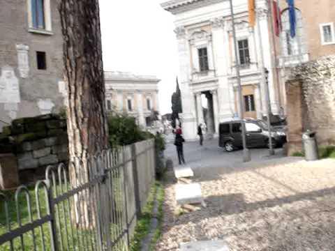 Germany-Rome-Egypt-Turkey: Capitoline Museum Views Rome #11 120609.MPG