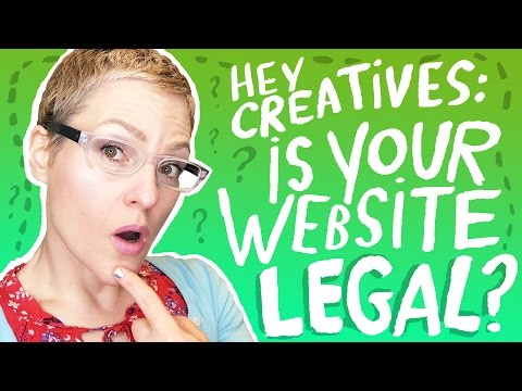 Is Your Web Site LEGAL?   Kathy Weller Art  Legal Resources For Artists Privacy Policy Internet Law