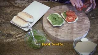How to Make: Caprese Panini