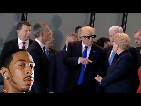Deluxe Edition: President Trump Meets NATO Leaders [Montenegro Please]