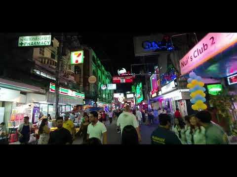 Walking Street Pattaya At 2am