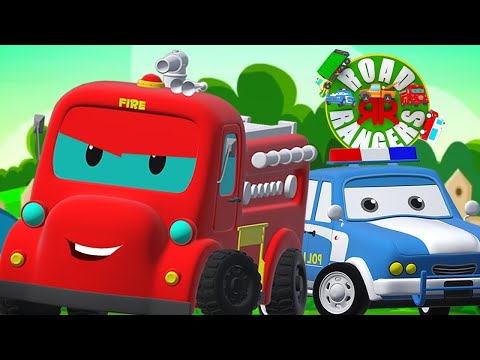 Street Vehicles | Car Cartoons | Kids Show | Vehicle Videos | Nursery Rhymes