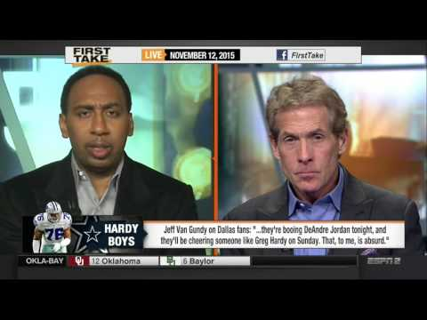FIRST TAKE HD - Jeff Van Gundy rips Dallas fans for booing DeAndre Jordan