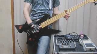 X JAPAN 「SADISTIC DESIRE」BASS COVER