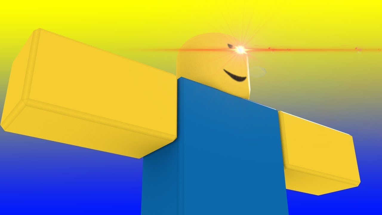 Roblox Player does a T-Pose to claim his DOMINANCE / Roblox Animation