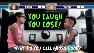 Kids Dad Jokes! | TRY NOT TO LAUGH CHALLENGE!! (PART 1)