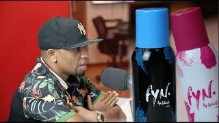 "EXCLUSIVE: MWANA FA AZINDUA BIDHAA ZAKE ZA BODY SPRAY ""FYN BY FALSAFA"""