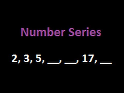 Number Seires And Puzzle :  2,3,5, __, __, 17, ___ (Tricks And Solutions)