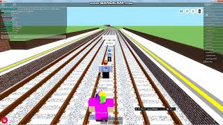 ROBLOX | Mind the Gap | Dodging trains at Denham.