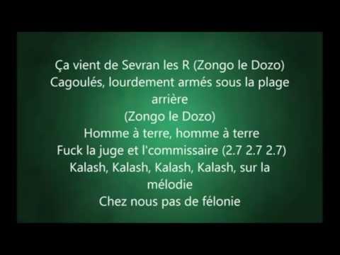 Kaaris, Kalash Criminel, Arrêt Du Cœur Instrumental +Lyricmix  Prod By Obmbeatze