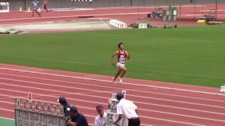 2017 西日本インカレ陸上 男子4×400mR  予選1~8
