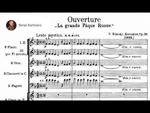 Nikolai Rimsky-Korsakov - Russian Easter Festival Overture, Op. 36 (1888)