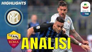 INTER ROMA 1-1 SPALLETTI COMMETTE DUE ERRORI, SPIEGO QUALI!