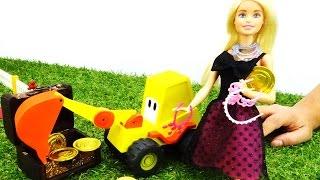 Видео для девочек: кукла Барби - новые украшения!
