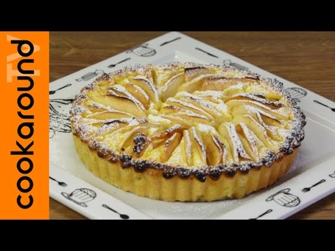 Crostata crema di ricotta e mele youtube for Crostata di mele
