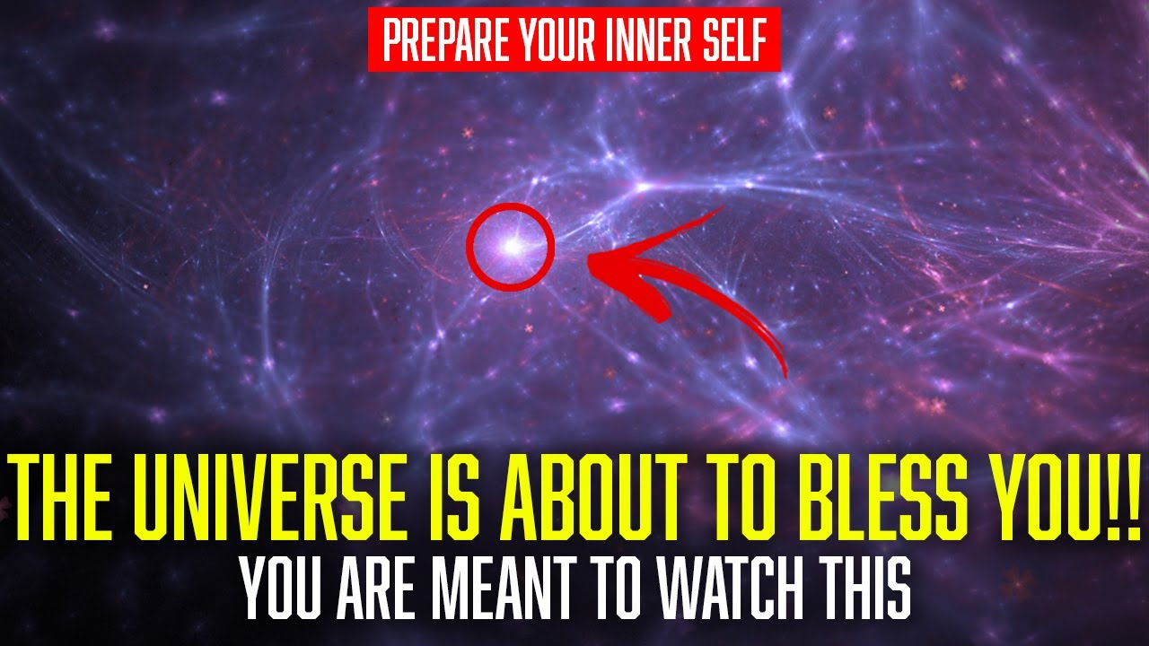 THE UNIVERSE IS ABOUT TO BLESS YOU BIG TIME [Watch This]