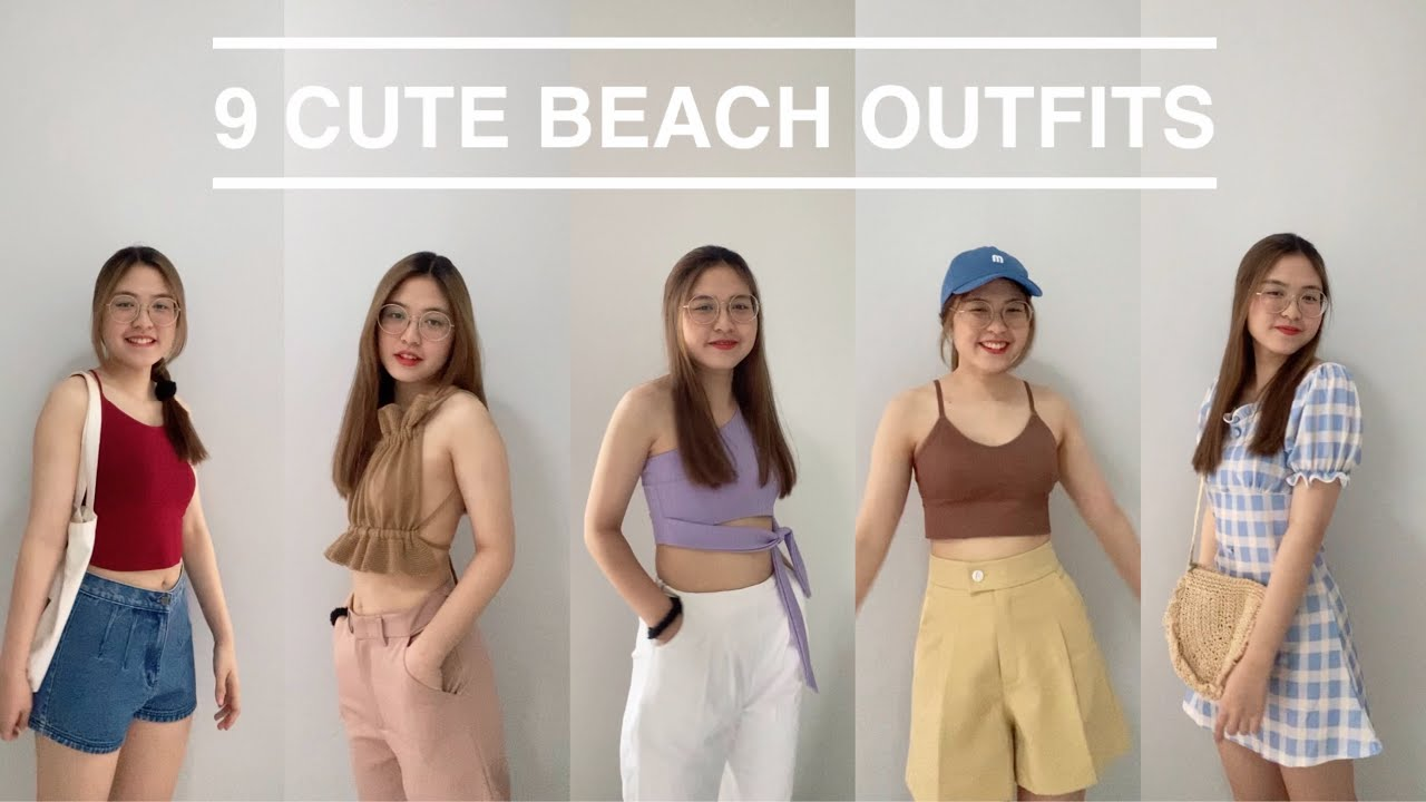 Beach Outfits   แต่งตัวไปทะเล🌤🌊🌴