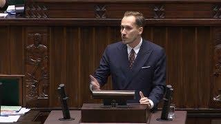 Konrad Berkowicz - pod osłoną nocy głosujemy ustawę podwyższającą podatki