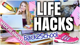 LIFE HACKS für BACK TO SCHOOL 2015 | XLAETA