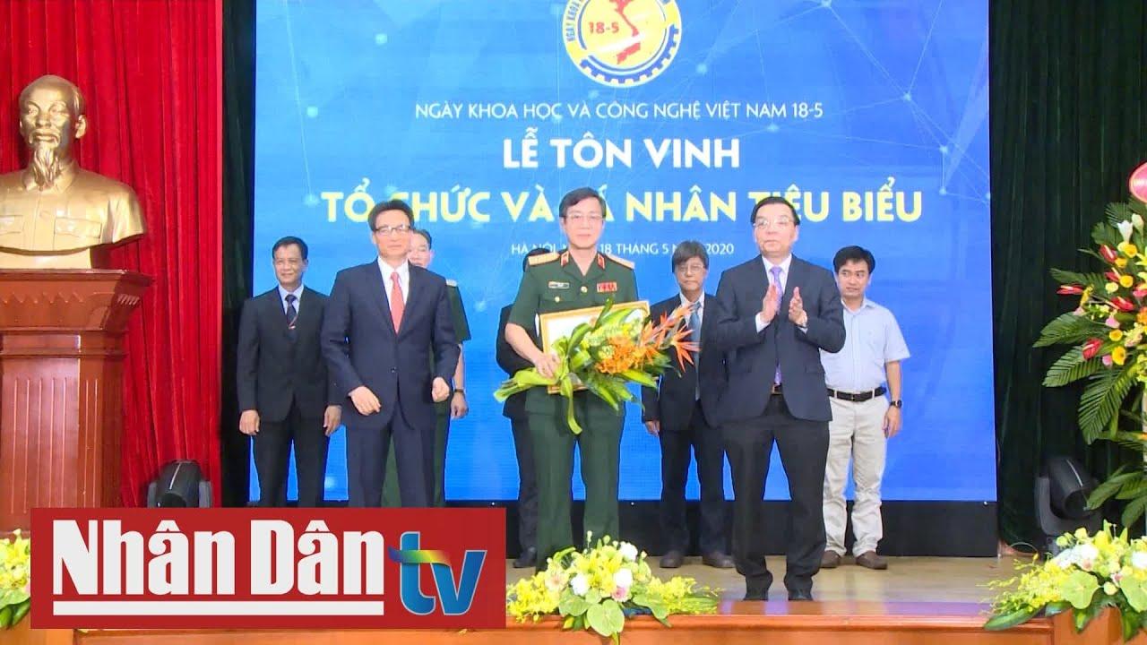 Kỷ niệm Ngày Khoa học và công nghệ Việt Nam năm 2020