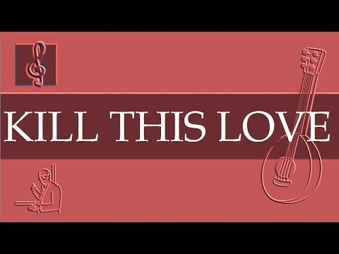 Mandolin Notes Tutorial - BLACKPINK - Kill This Love (Sheet Music) thumbnail