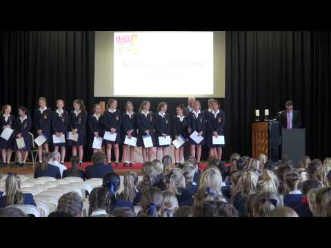 Middle and Senior School Assembly 5 August 2014