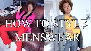 HOW TO STYLE MENSWEAR | OUTFIT IDEAS!!