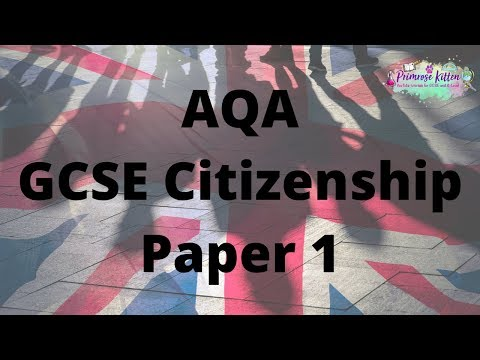 The Whole Of AQA GCSE Citizenship Paper 1! In Only 25 Minutes!!