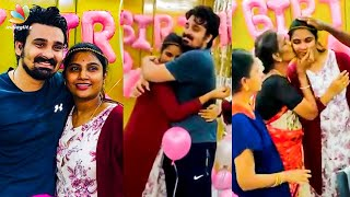 Full Video: Myna Nandhini Emotional Birthday Celebration | Yogeshwaran, Vijay TV | Latest Tamil News