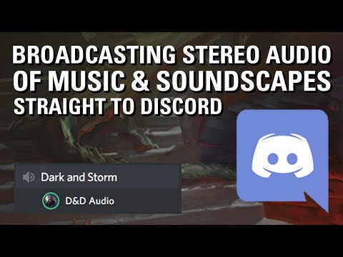 My Improved D&D Audio Setup — Stereo Audio To Discord