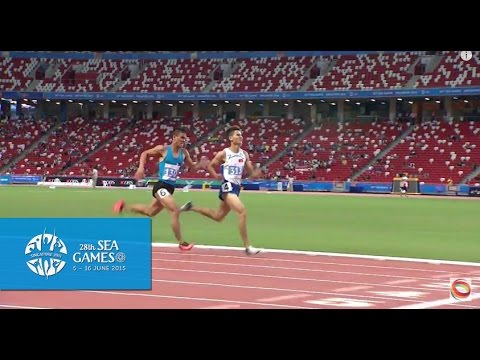 Athletics Men's 800m Finals  (Day 5) | 28th SEA Games Singapore 2015