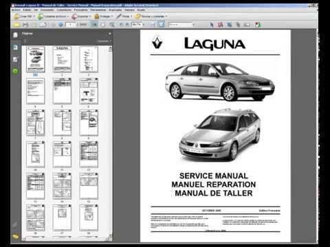 renault laguna ii manual de taller service manual manuel rh youtube com Tableau De Bord Renault Laguna 2 renault laguna 2 repair manual