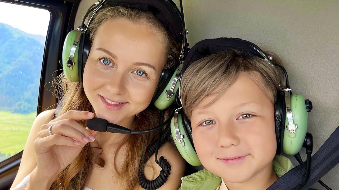 ВЛОГ - Новый Вертолет для Папы