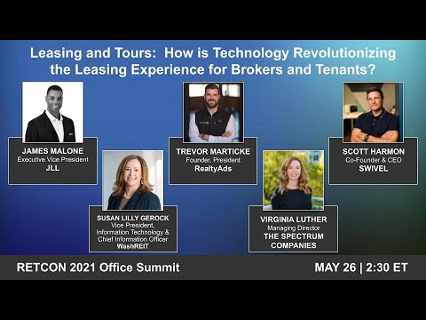 Leasing and Tours: How is Technology Revolutionizing the Leasing Experience for Brokers and Tenants?