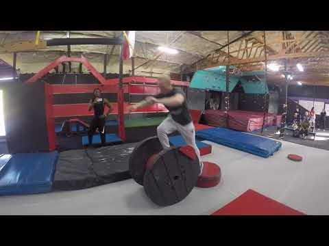Josh Norton 1st Place Axios Warrior Academy | National Ninja League Season 5